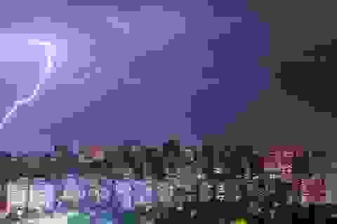 Kỷ lục sét đánh dài hơn 700 km ở Brazil
