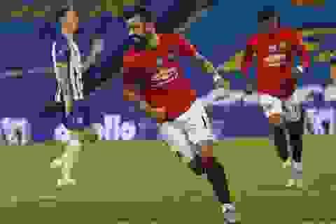 Fernandes xuất sắc nhất trong chiến thắng của Man Utd trước Brighton