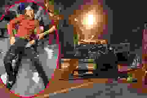 """CSGT bị """"tố"""" dùng dùi cui vụt vỡ mũi người đi xe máy vi phạm luật"""