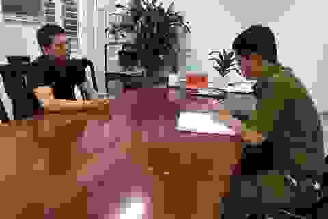 Nghi can cướp tiệm vàng ở Hà Nội bị khởi tố 2 tội danh