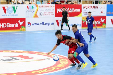 Thái Sơn Nam củng cố ngôi đầu giải futsal vô địch quốc gia