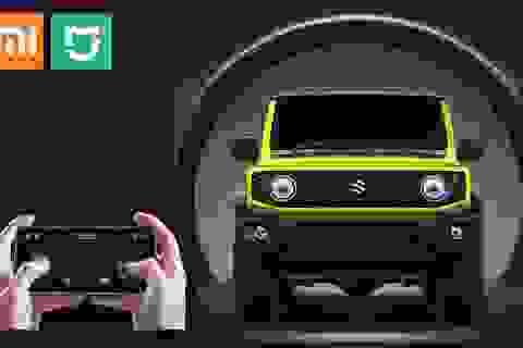 """Xiaomi làm """"hàng hot"""" Suzuki Jimny... điều khiển từ xa"""
