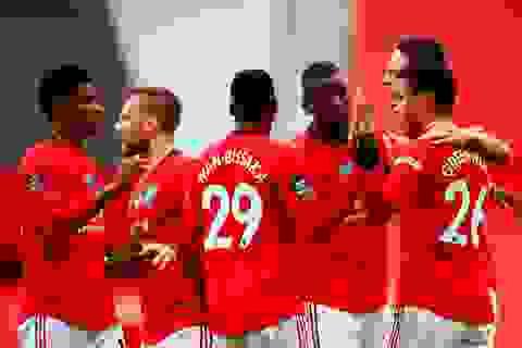 Những khoảnh khắc thăng hoa của hàng công Man Utd trước Bournemouth