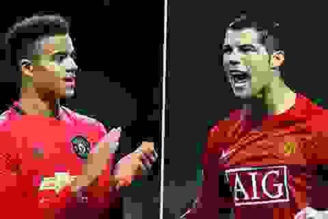 Mason Greenwood hơn hẳn C.Ronaldo ở tuổi 18