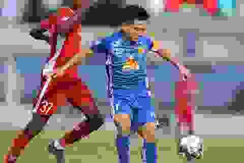 """Vừa thay """"tướng"""", CLB Quảng Nam có chiến thắng gây tranh cãi ở V-League"""