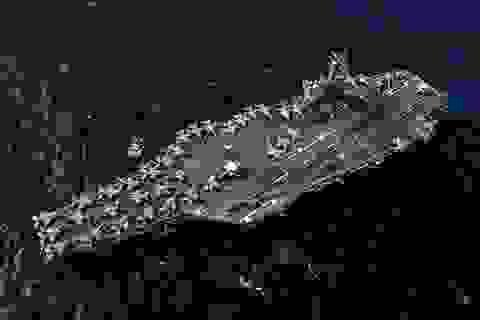 Hai tàu sân bay Mỹ tập trận ở Biển Đông