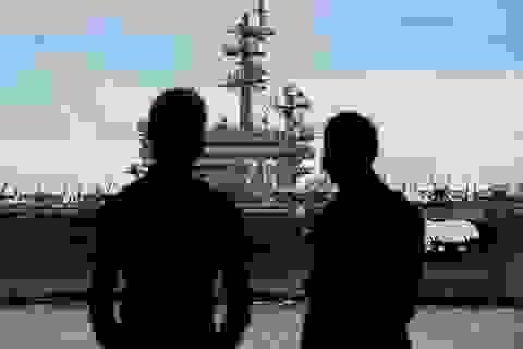 Trung Quốc theo dõi hai tàu sân bay Mỹ tập trận tại Biển Đông