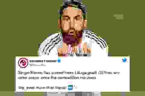 Kinh ngạc với khả năng ghi bàn như máy của Sergio Ramos