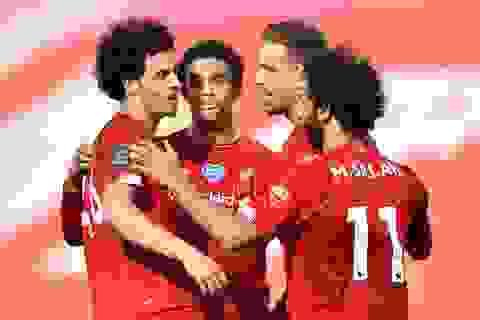 Man City gục ngã trước Southampton, Liverpool thắng trận thứ 29