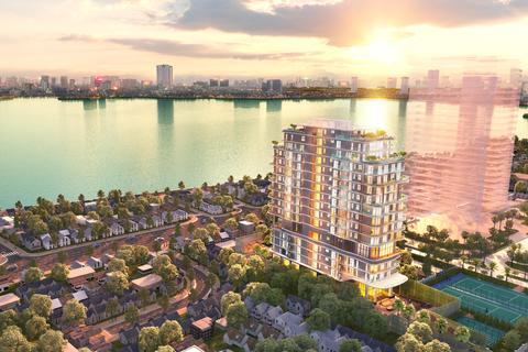 Giải mã sức hấp dẫn của bất động sản ven Hồ Tây