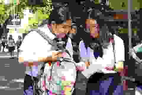 TPHCM: Số lượng thí sinh thi lớp 10 trường Phổ thông Năng khiếu giảm