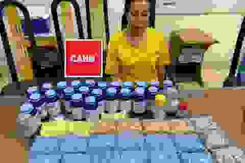 Hà Nội: Nữ quái giấu gần 11.000 viên ma túy tổng hợp trong nhà