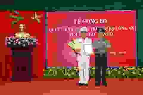 Phó Ban Tổ chức Tỉnh ủy làm Phó Giám đốc Công an tỉnh Sóc Trăng