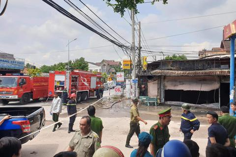 Ba người tử vong trong vụ cháy tiệm cầm đồ