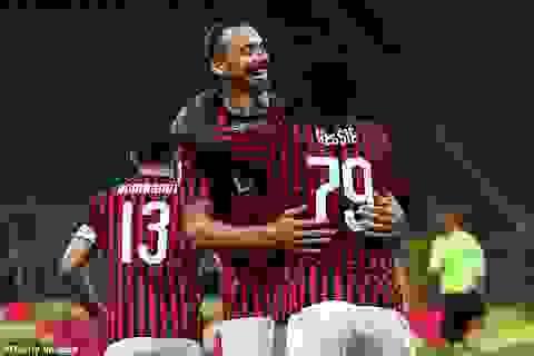 C.Ronaldo lập công, Juventus vẫn bị AC Milan ngược dòng không tưởng