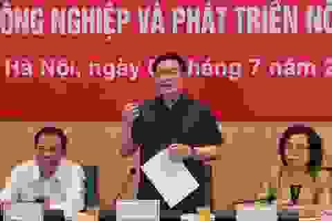Bí thư Hà Nội: Phủ kín quy hoạch sông Hồng tạo sinh kế cho 900 nghìn dân