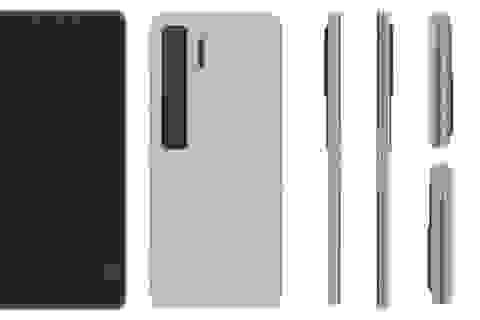 """Huawei hé lộ ý tưởng smartphone màn hình gập """"vỏ sò"""" giống Galaxy Z Flip"""