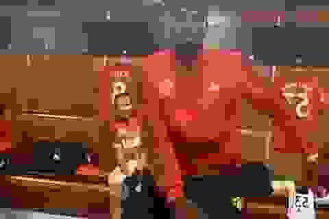 Pogba nhảy múa tưng bừng sau chiến thắng của Man Utd trước Bournemouth