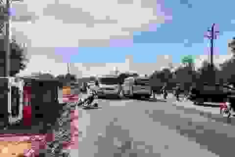 Tai nạn liên hoàn ở Phú Quốc, hơn 40 du khách may mắn thoát nạn