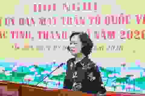 Bộ Chính trị dừng thí điểm Trưởng ban Dân vận kiêm Chủ tịch Mặt trận