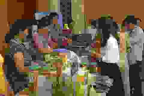 Gần 200 sản phẩm tiêu biểutham gia kết nối cung cầu hàng Việt Nam