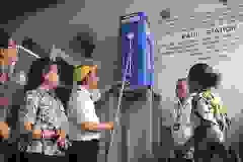 Quảng Trị: Tặng thiết bị lọc nước cho trường học vùng miền núi, biên giới