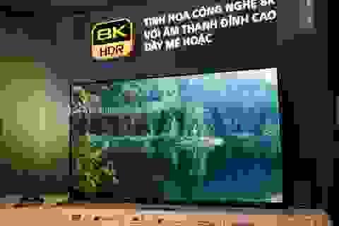 TV 8K đầu tiên của Sony về Việt Nam, giá 263 triệu đồng