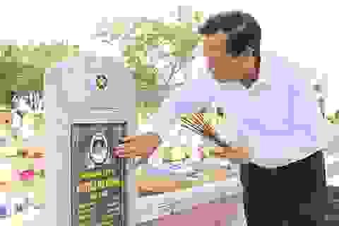 """Bộ trưởng Đào Ngọc Dung: Xử lý dứt điểm tên trên bia mộ """"liệt sĩ vô danh"""""""