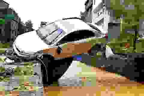 Nhiều thành phố Trung Quốc báo động đỏ vì mưa lũ