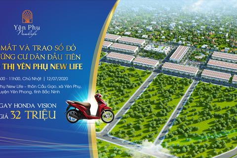 Ra mắt dự án đất nền Yên Phụ New Life – khu đất nền mới nổi tại Bắc Ninh