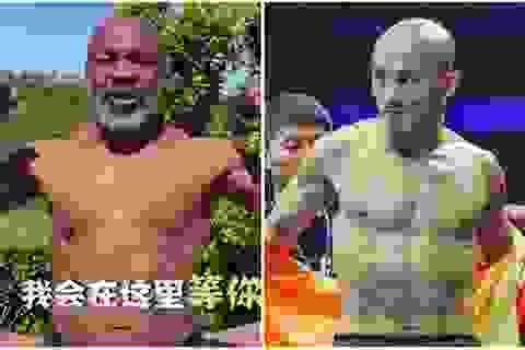"""Mike Tyson nói gì về lời thách đấu của """"Đệ nhất Thiếu Lâm""""?"""