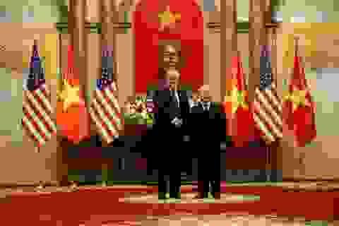 Tổng thống Donald Trump chúc mừng 25 năm quan hệ Việt - Mỹ