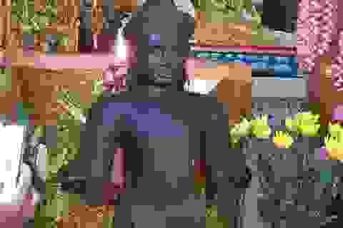 Bức tượng lạ được phát hiện ở Sóc Trăng: Nghi là tượng thần Vishnu