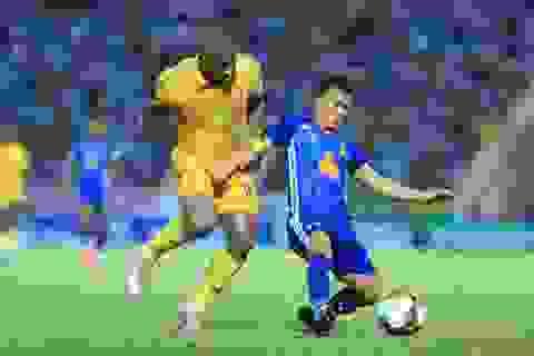 Thắng nghẹt thở CLB Quảng Nam, CLB Nam Định thoát vị trí cuối bảng