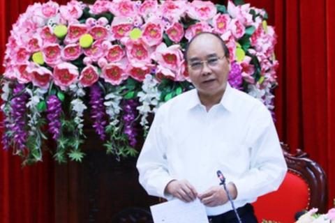 Thủ tướng: Ninh Bình cần tiếp tục đi đầu trong giải ngân vốn đầu tư công