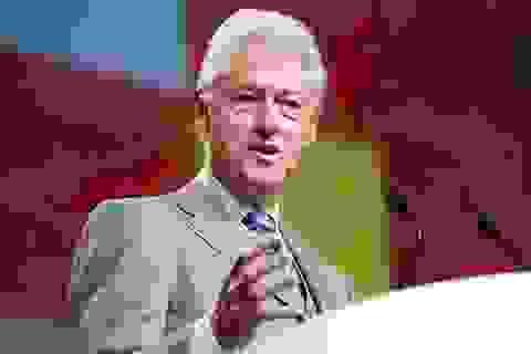 """Cựu Tổng thống Clinton: """"Biết ơn 25 năm quan hệ đối tác Việt - Mỹ"""""""