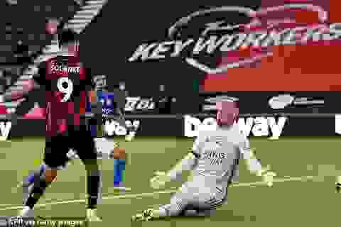 """Bournemouth 4-1 Leicester City: """"Bầy cáo"""" lỡ cơ hội đòi lại vị trí thứ 3"""
