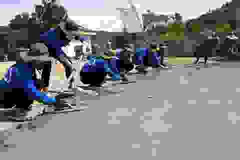 Thanh niên Nghệ An chung tay xây dựng nông thôn mới với nhân dân vùng biên