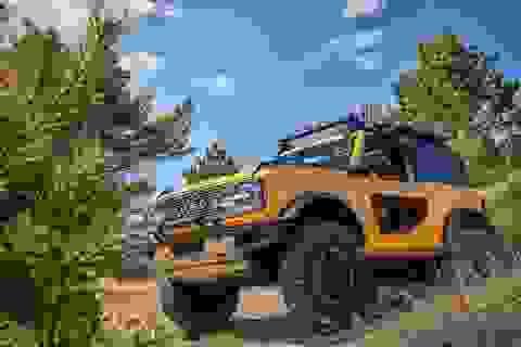 Ford Bronco ra mắt, cạnh tranh sát ván Jeep Wrangler
