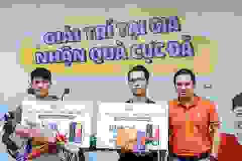 Trúng thưởng xe tay ga khi sử dụng dịch vụ FPT Telecom