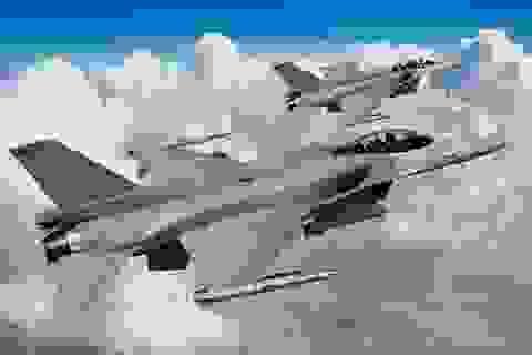 Máy bay chiến đấu Mỹ rơi khi hạ cánh