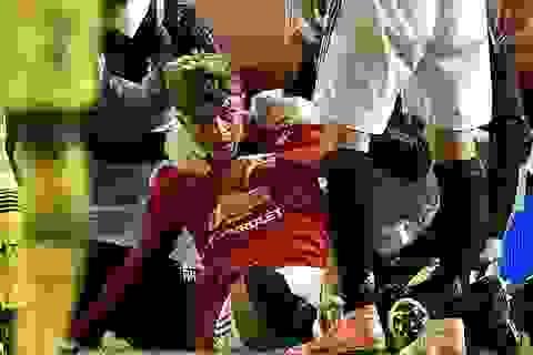 Cận cảnh chấn thương của Williams khiến Man Utd nhận bàn thua phút bù giờ