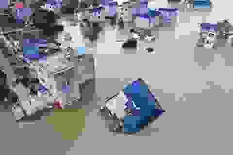 Trung Quốc chật vật ứng phó lũ lụt tồi tệ nhất trong hơn 30 năm