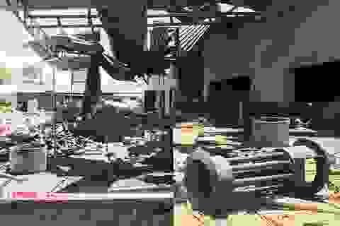 Sức công phá khủng khiếp của vụ nổ khiến hai chị em thương vong