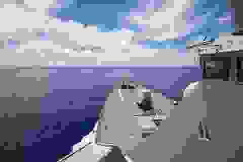 Tàu chiến Mỹ áp sát Trường Sa