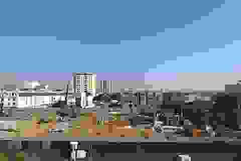 Dự án trung tâm thương mại thi công, nhà dân nứt toác tại TP Vinh