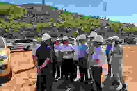 EVN làm việc tại tỉnh Nghệ An về đường dây 500kV đấu nối NMNĐ Nghi Sơn 2