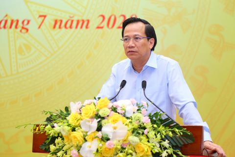 Bộ trưởng Đào Ngọc Dung: Trong khó khăn bởi Covid-19, vẫn có tín hiệu tốt