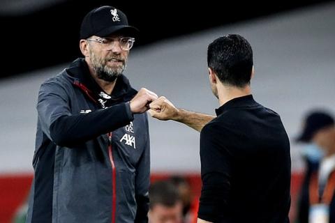 HLV Klopp tức giận khi thua Arsenal, Liverpool hết cơ hội đạt mốc 100 điểm