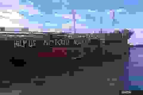 12 thuyền viên Việt mắc kẹt 4 tháng trên tàu biển ở Malaysia vì Covid-19